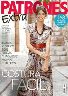 PATRONES revista 51 EXTRA - costura fácil -.
