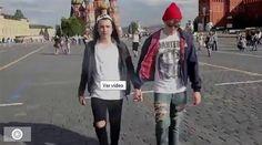 E isto que se passa quando dois homens passeiam de mãos dadas em Moscovo - Dinheiro Vivo