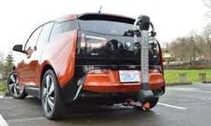 Torklift Central | 2014 BMW i3 EcoHitch Stealth | EcoHitch® for the 2014 BMW i3 and i3 with Range Extender...