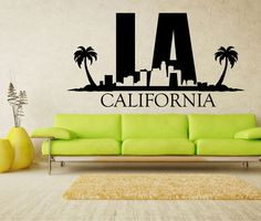 L.A. Los Angeles CALIFORNIA Sticker by by StickONmania on Etsy, $29.00