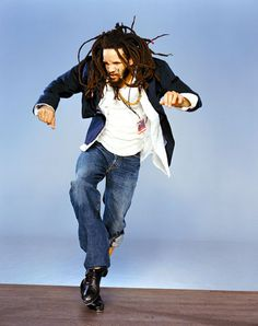 Savion Glover - tap dancer.(That awkward moment when this guy is actualy Mumble off of happy feet.