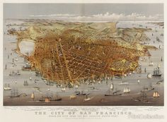 The City of San Francisco, Bird's Eye View
