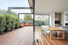 East Malvern Residence by LSA Architects 1 Classic Brick Federation House in Suburban Melbourne Updated for Modern Family Living Australian Architecture, Residential Architecture, Interior Architecture, Interior Exterior, Exterior Design, Outdoor Spaces, Outdoor Living, Indoor Outdoor, Classic House