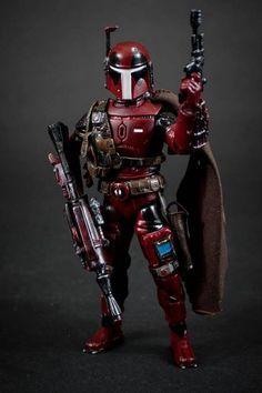 Deadpool Wayde Weelson Mandalorian Custom Action Figure