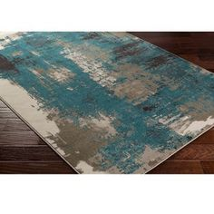 Home Accents Steinberger x Area Rug Brown And Blue Living Room, Silver Living Room, Cream Living Rooms, Living Room Turquoise, Living Room Accents, Living Room Color Schemes, Living Room Colors, Living Room Grey, Living Room Decor