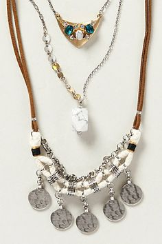 Orocopia Layered Necklace - anthropologie.com