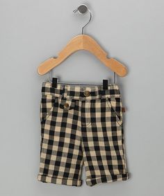 plaid shorts for girls