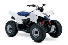 New 2016 Suzuki QuadSport Z90 ATVs For Sale in California. The Z90 is the ideal ATV for young riders to learn on. Convenient features like the automatic transmission and electric starter help make this ATV suitable for supervised riders ages 12 and up. Get your little ones started on the Quadsport Z90 so your whole family can experience Suzuki's Way of Life!