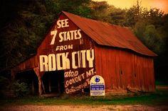 Rock City Barn Cherokee, North Carolina