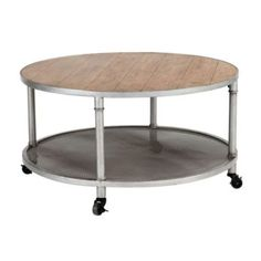 Industrial Round Coffee Table | Lighting | Ballard Designs