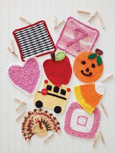 A Year of Dishcloths a variety of 52 crochet dishcloth patterns