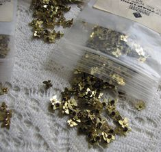 Craft Supplies: Swarovski Components Butterflies Vintage Craft and Jewelry Making Supplies and Blanks