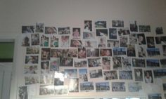 A photo wall is a great to add a cool cute and stylish look to your wall and also remember you memories and good times.