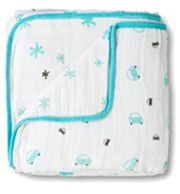 """""""little man dream blanket"""" Aden + Anais dream blanket. I wish they carried this blanket in """"prince charming."""" My son has the tendency to get too hot, but not with aden + anais blankets."""
