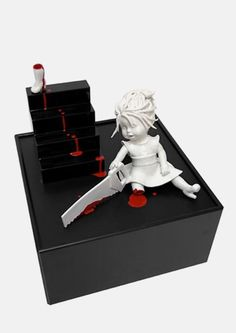 Gory, porcelain doll series