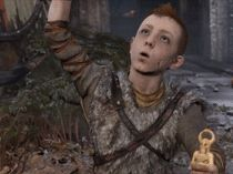 Atreus never gets time to play, I'm glad he could have fun. Gow 4, Lady Games, Kratos God Of War, Night In The Wood, Precious Children, Norse Mythology, Life Is Strange, Dragon Age, Skyrim