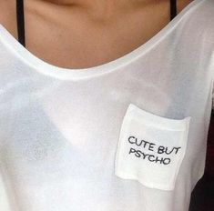 | cute but psycho, outfit, shirt,