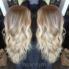 Cute Blonde Balayage Highlights 2016
