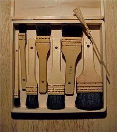 Japanese Tools, Bamboo Leaves, Damaged Hair Repair, Japanese Painting, Japanese Prints, Woodblock Print, Wooden Handles, Wood Blocks, Letterpress