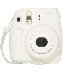 Fujifilm Instax Mini 8 Instant Camera ($100) ❤ liked on Polyvore featuring fillers, camera, electronics, accessories, other, white and magazine