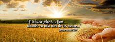 """Yo creo en esta palabra - Deuteronomio 30:9 """"Y te hará Jehová tu Dios abundar en toda obra de tus manos, en el fruto de tu vientre"""""""