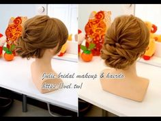 過年簡易髮型教學 Simple updo hairstyle - YouTube