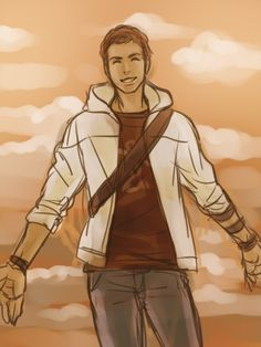 [AC] Desmond Miles--I feel like this is what happens when he's in heaven and is free of burdens, free of manipulators, free from being a puppet to anyone, he finally can fly