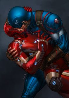 """v-ac: """"  'While Captain America and Iron Man will mostly likely kiss and make up in time to save the world…' - Russo Bros on Infinity Wars (X) Marvel, I did Stony keyframe for you. """" !!!!!!!?!!?!???!!!! YES you are the best @v-ac!!!"""