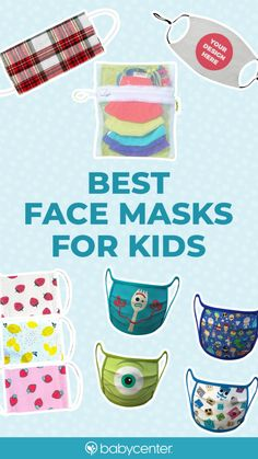 Small Sewing Projects, Sewing Hacks, Sewing Crafts, Craft Activities For Kids, Crafts For Kids, Face Masks For Kids, Best Face Mask, Baby Center, Diy Mask