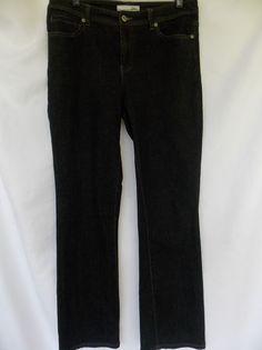 Chicos 0.5 Platinum Jeans Dark Blue Womens Small Boot Cut 32x31 medium 1 #Chicos…