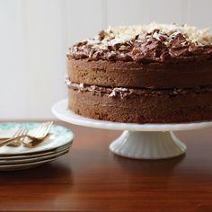 Sam German created the mild, dark baking chocolate called Baker's German's Sweet Chocolate in 1852; in the late 1950s, a Dallas newspaper published a ...