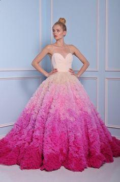 ed5c99c8e8a1 42 Prettiest Pink Wedding Dresses In Different Styles. Abiti Da Sposa ...