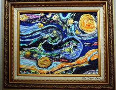 Fabric Starry Night