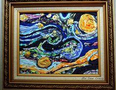 Fabric Starry Night