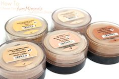 Love, Shelbey: How to Choose Your Bare Minerals Foundation Shade