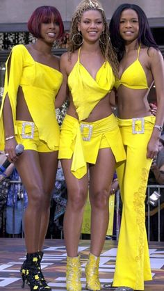 Mathew Knowles Eyes Possible Destiny's Child TV Series Tina Knowles, Beyonce Knowles, Hip Hop Fashion, 2000s Fashion, Gta San Andreas, Beyonce Style, Destiny's Child, Michelle Williams, Vestidos