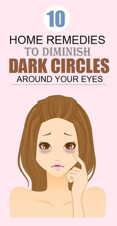 Home Remedies for #DarkCircles under Eyes