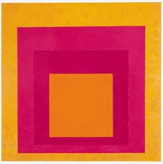 One of the most immediately recognizable and influential series of paintings produced in the twentieth century is Josef Alberss Homage to the Square. Beginning the series in 1950, at age 62, Albers was to produce more than a thousand Homage paintings and prints, in four different formats. The works became widely known (one appeared on a 1980 United States postage stamp) and influenced two generations of hard edge and Minimalist art.