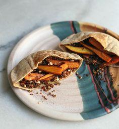 Diana Yen's Carrot-and-Quinoa Pita Recipe | Lonny.com