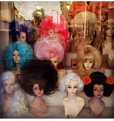 Hollywood wigs!