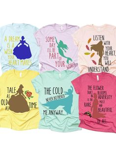 Disney Princess Shirt Disney Plus size Shirts Disney