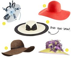 Derby Hats #KendraScott Love horse racing how about a derby reception? Everyon has to wear a hat!