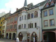 Alsace : Ancienne maison Mieg, Place de la Réunion à Mulhouse