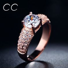 Fine Rose Gold Plated Rings for Women by BeautifulJewelryByMk