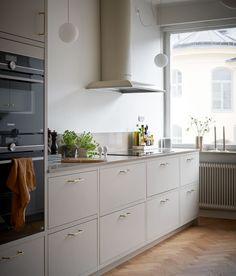 Marbodal Arkitekt plus beige Trends, Home Interior, Sweet Home, Kitchen Cabinets, Beige, Inspiration, Retro, Homeland, Rooms
