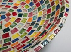 Your place to buy and sell all things handmade Pottery World, Safe Food, Squares, Serving Bowls, Rainbow, Tableware, Handmade, Etsy, Rain Bow