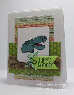 Owl Be Craftin: Hippo Hooray!