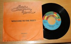 """THE CHAPLIN BAND - Welcome to the party + Dreaming - Vinyl 7"""" - Papagayo"""