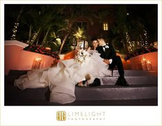 #wedding #photography #weddingphotography #DonCeSar #StPetersburg #Florida #stepintothelimelight #limelightphotography #weddingday #ceremony #beachatnight #bride #groom #newlyweds #mr #mrs #sitting #stairs #dress #bouquet