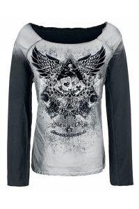 Alchemy Gothic - Sweatshirt - Winged Ace of Spades